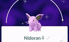 Pokemon go 💥💥shiny Nidoran💥💥 !!