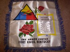 Collectible Military Fort Knox,Ky Souvenir Pillow Case: To Sweetheart