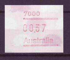 Australien Automatenmarken  Nr.    9  **   Ameisenigel  mit Postleitzahl    -8