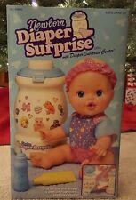 Vintage 1997 Kenner Newborn Diaper Surprise with Diaper Surprise Center NIB RARE
