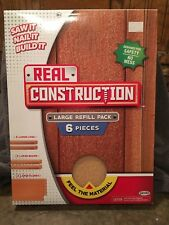 Jakks Pacific Real Construction Large Refill Pack Kid Wood 6 pieces