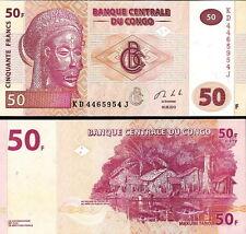 CONGO - 50 francs 2013 FDS - UNC