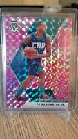 2019-20 Panini Mosaic PJ Washington Jr Rookie RC Pink Camo Mosaic Prizm