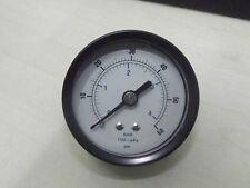 "0.60 Psi 50mm ,2 Inch Pressure Gauge (0-4bar) METAL Case 1/8"" Bsp Rear  SPECIAL+"