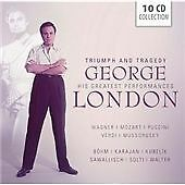 George London Triumph and Tragedy 10 cd new sealed Wagner Mozart Verdi