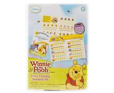 Disney Winnie The Pooh Potty Toilet Training Rewards Chart Stickers Certificate+