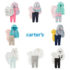 Baby Girl Carters Set Fall Winter Outfit Jacket Bodysuit...