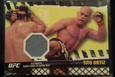 2010 TOPPS UFC FIGHT MAT RELICS FROM UFC 106 TITO ORTIZ UFC MMA #FMTO
