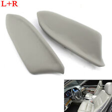 1Pair Door Panel Armrest Leather Replacement fit for Honda Accord 2008-2013 Gray