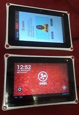 Lot of TWO (Nabi 2 NV7A) 8GB 7-Inch Multi-Touch Kids Tablets android 4.0