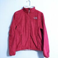 The North Face Fleece Jacket Womens Size Small Osito Pink Soft Full Zip Coat