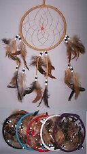 Handmade Tribal Dream Catchers Wall Decorations  6 Pc Lot (NpDc193-6 ^ )