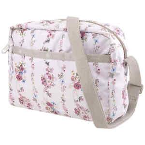 Le Sportsac Rose Garland Daniella Nylon Crossbody Bag 2434-F438