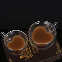 Double Wall Clear Glass Tea Coffee Cup Heat-resistant Thermal Mug Cups 150/250ML
