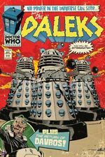 DOCTOR WHO - DALEKS COMIC POSTER - 24x36 BBC TV DR CLASSIC 5604