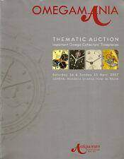 RARE - ANTIQUORUM OMEGAMANIA OMEGA Watch James Bond Auction Catalog 2007