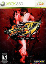 STREET FIGHTER IV COLLECTOR'S EDITION (MICROSOFT XBOX 360 VIDEO GAME, 2009)