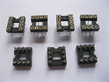 60 pcs IC Socket Adapter Pitch 2.54mm 8 PIN Round DIP High Quality X=7.62mm
