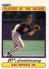 1990 Fleer Cal Ripken Jr #624 Baseball Card