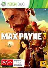 Max Payne 3 Microsoft Xbox 360 PAL Brand New