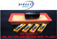 HYUNDAI GETZ SERVICE KIT AIR OIL FILTERS 4 NGK PLUGS