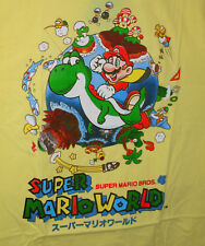 Japanese Nintendo Super Mario World Brothers Video Game 2017 T-Shirt New Mens XL