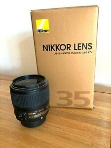 Nikon NIKKOR AF-S 35 mm F/1.8 G ED Lens Full Frame FX