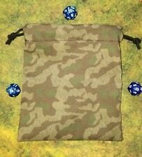 Splinter A German Camo Bolt Action dice bag, card bag, makeup bag