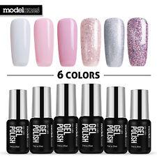 Modelones UV/LED Gel 6Pcs/Lot Soak Off Nail Art Polish Set Manicure Varnish 7ML