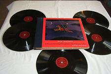 """FEUERMANN / ORMANDY Strauss DON QUIXOTE 5 x 12"""" 78 RPM 1940 Victor M-720 EX"""