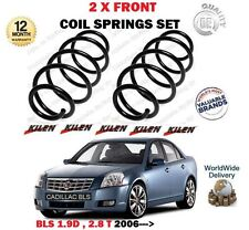 FOR CADILLAC BLS 1.9D 2.8 T 150 180 255BHP 2006->NEW 2X FRONT COIL SPRINGS SET