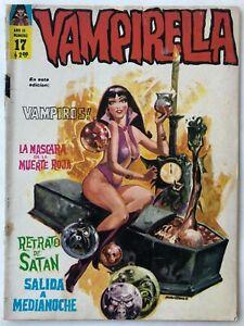 VAMPIRELLA N° 17 HORROR ARGENTINA COVER EDITORIAL MAZZONE 1972
