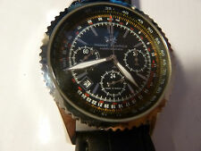 NEW Watch Russia 31682 Chronograph Poljot Mechanical Moscow Classic Night Hunter