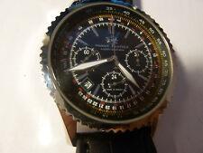 NEW Watch Russia 31682 Chronograph Poljot Mechanical Moscow Classic Night Hunter