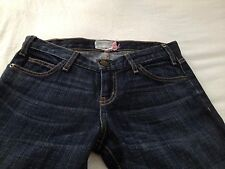 Current/Elliott Women's The Skinny Low Rise  Empire Blue Jeans Size 26 Inseam 33