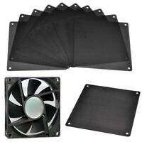 10PCS 120mm Computer PC Dustproof Cooler Fan Case Cover Dust Filter Mesh