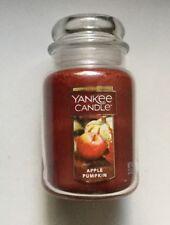YANKEE CANDLE APPLE PUMPKIN 22 oz LARGE JAR