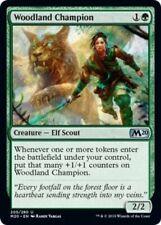 *MtG: 4x Woodland Champion - Core Set Magic 2020 Uncommon - magicman-europe*