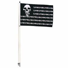 Tusk Skulls And Stripes Desert Flag With 6' Pole Motorcycle ATV UTV DIRT BIKE