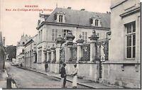 CPA 21 - BEAUNE - rue du collége et collège monge