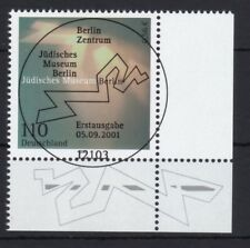 BRD 2001 gestempelt ESST Berlin Eckrand unten rechts MiNr. 2216