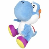 Little Buddy Super Mario Bros Dark Blue Yoshi Stuffed Plush, 6""