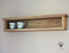 s78 Handmade Wall Hanging Shelf | Beautifully Designed Wall Cabinet | Oak Shelf