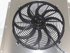 "Chevy Panel Truck Custom Aluminum Shroud & 16"" Fan-20 1/8"" H x 19 1/2"" W  # 5100"