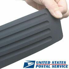 Car Rubber Pickup Rear Guard Bumper Protector Trim Cover Anti Scratch Pad Black Fits Pontiac Sunfire