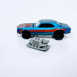 1 pc. Turbo & Intercooler 1:64 scale engine 3D printed resin Hot Wheels/Matchbox