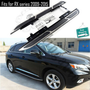 Side steps fits for Lexus RX270 RX350 2009-2015 running board nerf bars side bar