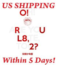 US SHIPPING BTS-[O!RUL8,2?] 1st Mini Album CD+Photo Card+Booklet+Poster/On
