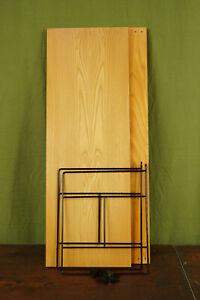 60er Bookcase Vintage String Shelf Ash Wood Wall Shelf Danish Shelf System 19