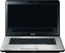 """Cheap Toshiba Satellite Pro L450 15.6"""" Intel 2.00Ghz, Webcam, Windows 7 Laptop"""